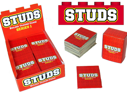 LEGO Studs trading cards