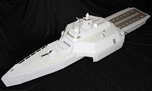 HMS Neptune forward overview