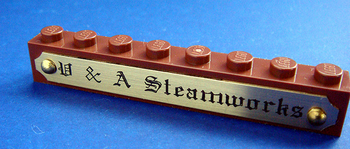 Best Steampunk Name brick ever?