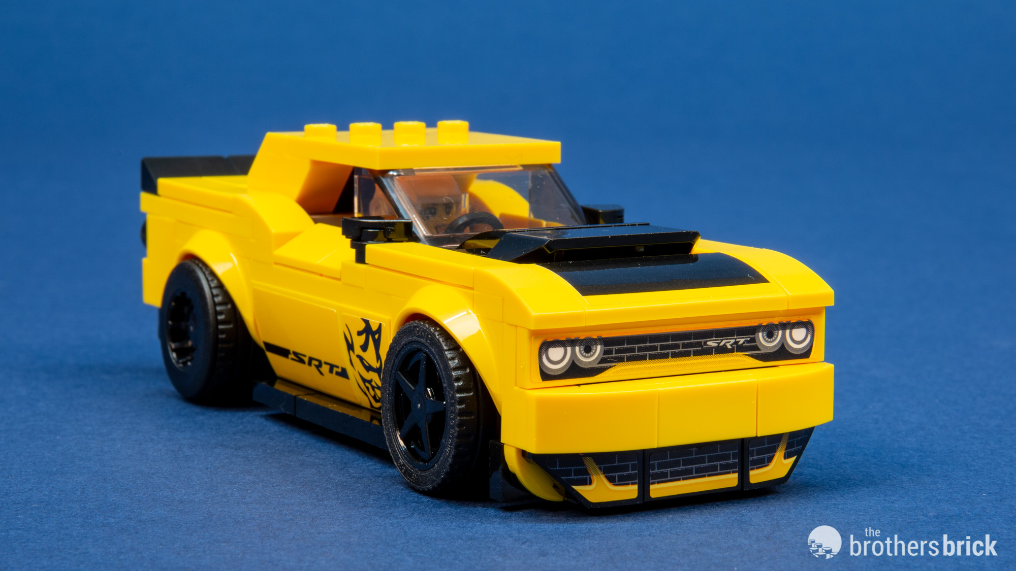 75893 2018 Dodge Challenger Srt Demon And 1970 Dodge Charger R T 12 The Brothers Brick The Brothers Brick