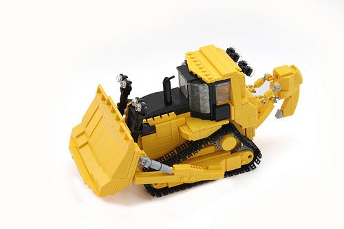 Caterpillar D10r Bulldozer.