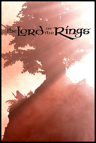 LEGO LOTR poster