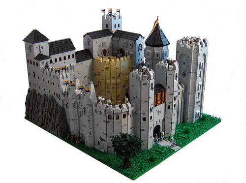Dawn Rock Castle