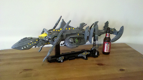 Space Whale WarSHIP