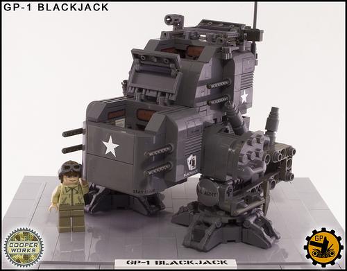 LEGO military mecha