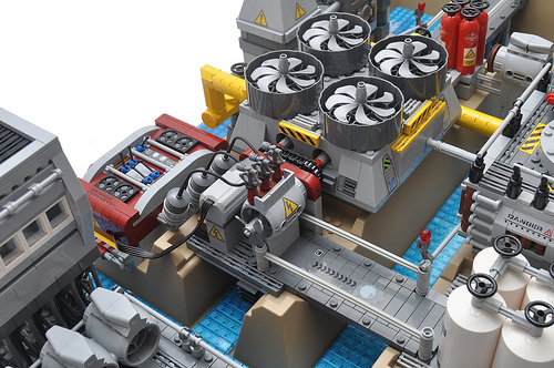 LEGO desalination plant