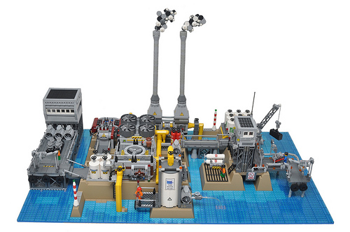Island desalination