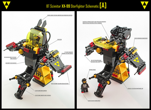 Blacktron Scimitar Schematic A