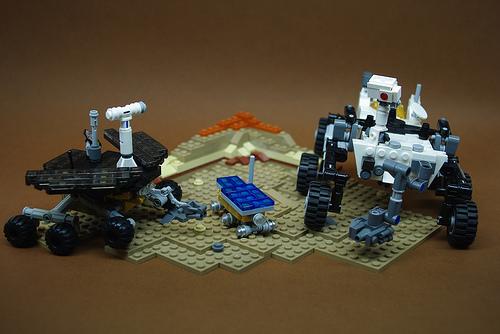 Mars Rover Family Portrait