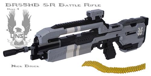 Halo 4 BR85HB SR Battle Rifle