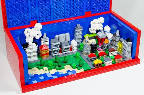 Mini Lego city in Brick