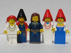 Castle Princess Minifigs on Flickr