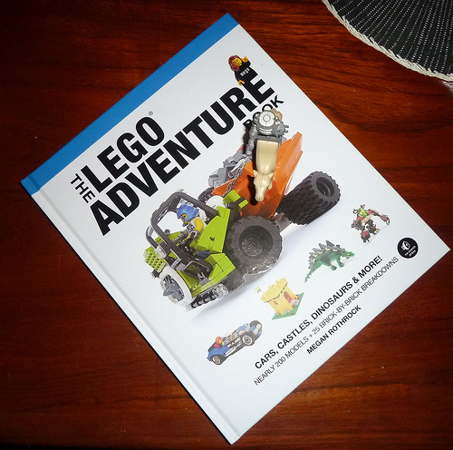 LEGO Adventure Book IRL
