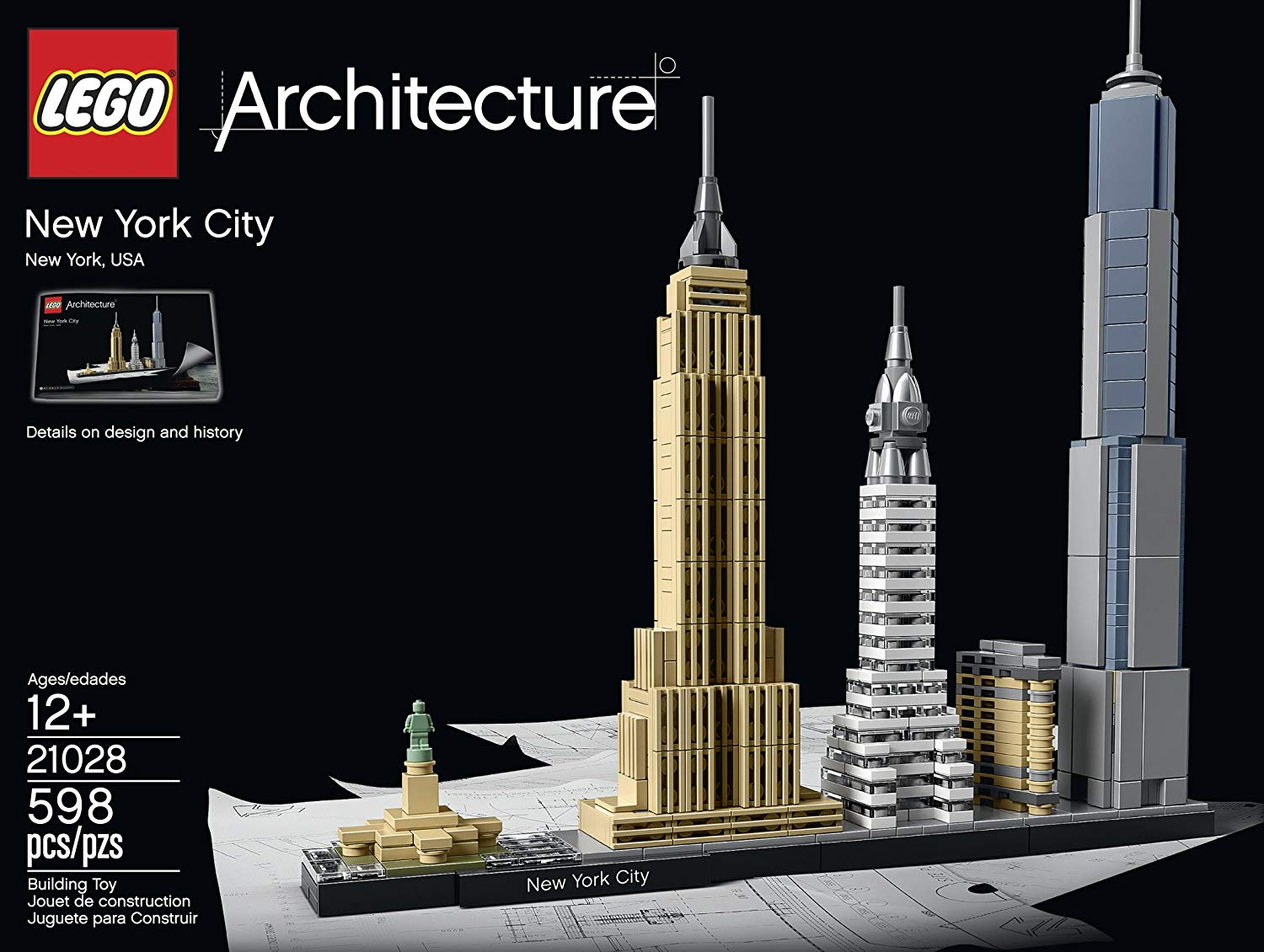 LEGO Architecture 21028 New York City on Amazon