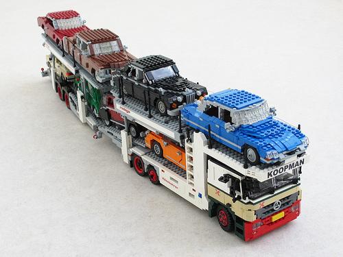 Mercedes Actros car transporter (4)