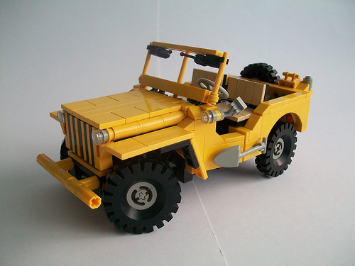 LEGO Jeep by TechnicNick on Flickr