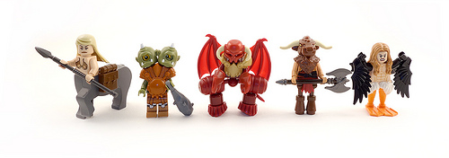 Monsters of Myth and Legend