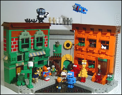 LEGO Sesame Street by Mike Crowley
