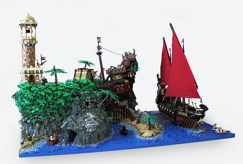 Turtle Island - finished layout