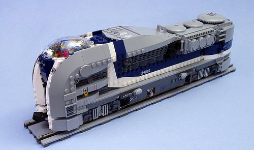 SD44-1 Nuclear Locomotive