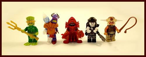 Vile Creatures of Brickdom