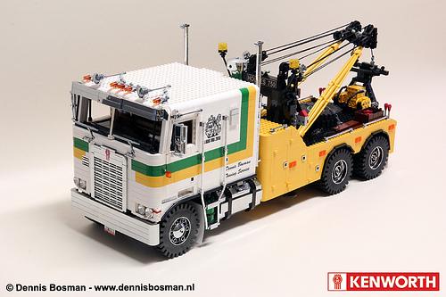 Kenworth K100 with Holmes 750