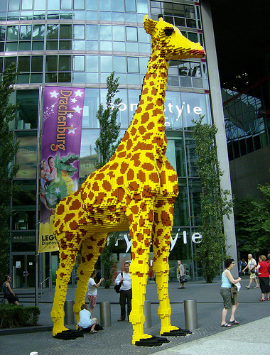 LEGO Giraffe Berlin Tail Theft