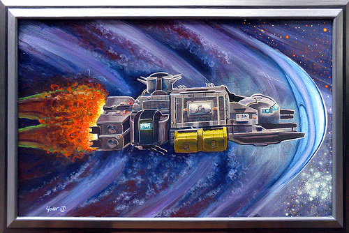 CJ1 Deep Space Trucker: Framed