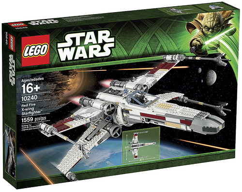10240 Red Five X-Wing Starfighter (1)