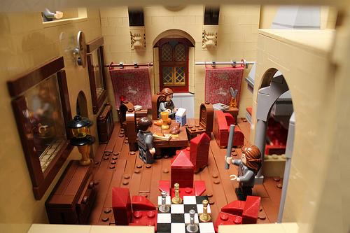 Gryffindor common room interior