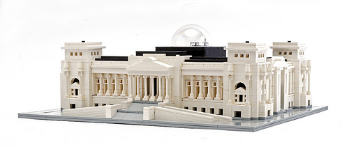 Reichstag, Berlin in LEGO