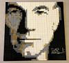 Patrick Stewart Signed Mosaic