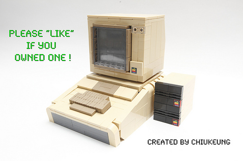 LEGO Apple II Plus