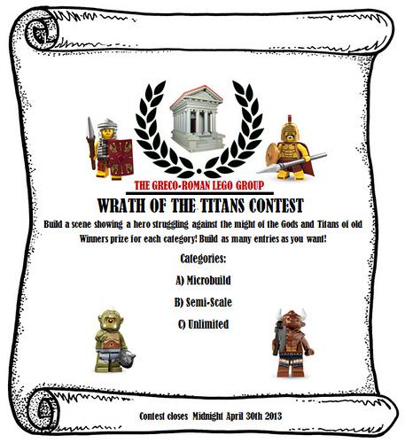 Wrath of the Titans Contest