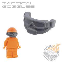 Tactical Goggles - Dark Blueish Gray