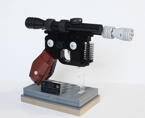 Han Solo's DL-44 Blaster Pistol