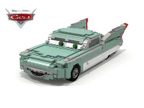 Disney Pixar Cars - Flo