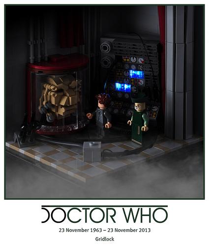 50 years of Doctor Who – 03. Gridlock