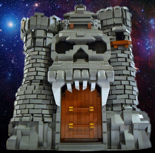 Lego Castle Grayskull The Brothers Brick The Brothers Brick