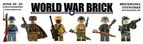 World War Brick banner