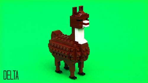 LEGO llama