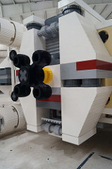 Life-size LEGO X-wing (10)