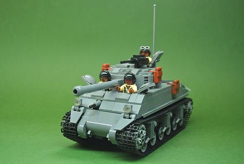 "M4A3E2 Sherman ""Jumbo"" of the 761st (1)"