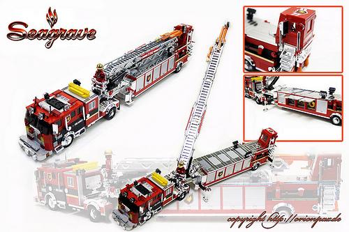 Seagrave Fire Truck for Chromebricks.com