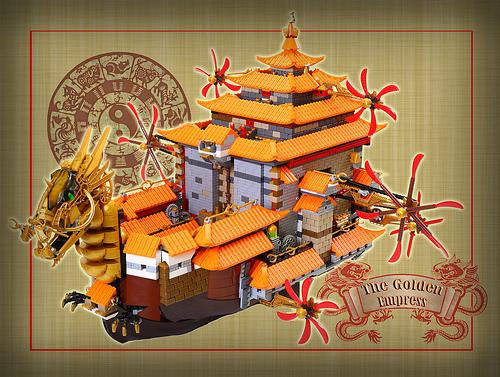 The Golden Empress by V&A Steamworks