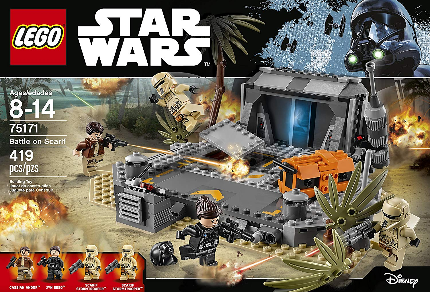 LEGO Star Wars 75171 Battle on Scarif set