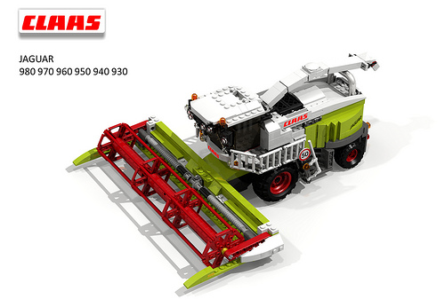 CLAAS Jaguar 900-Series Harvester