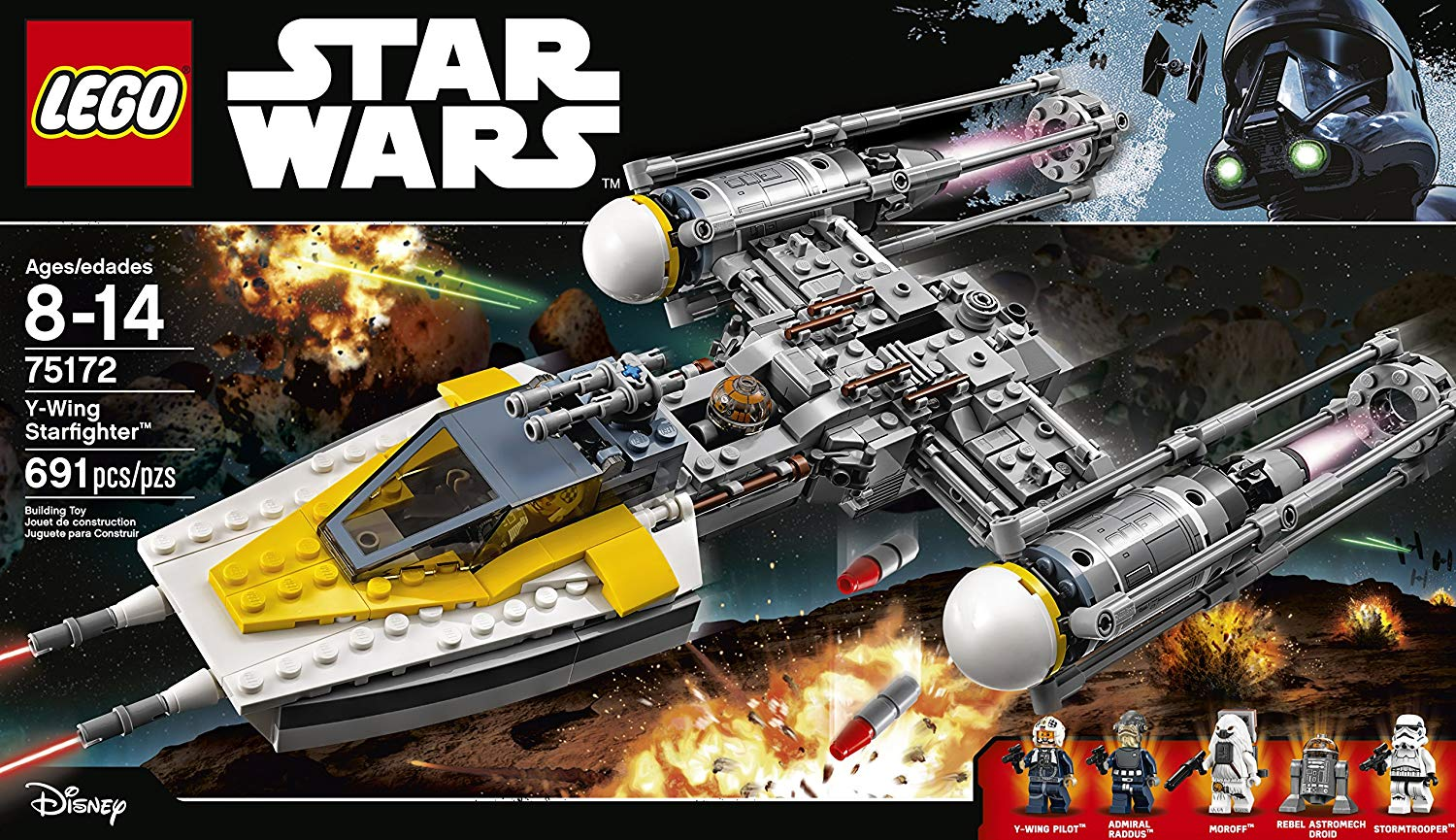 LEGO Star Wars 75172 Y-Wing Starfighter set