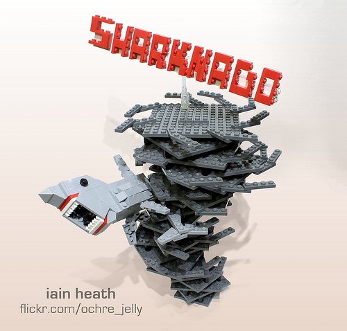 Sharknado - The LEGO Edition