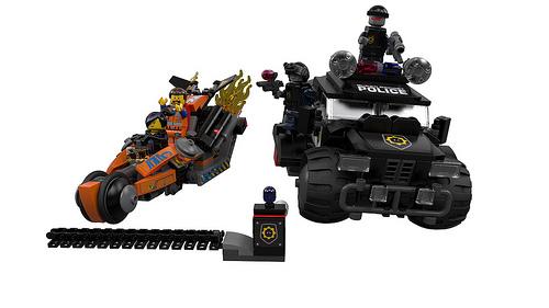 The LEGO Movie: Wyldstyle Chase